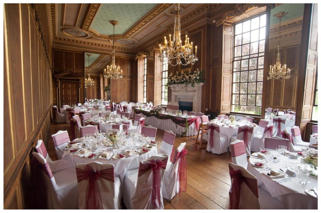 Ballroom in Burgundy