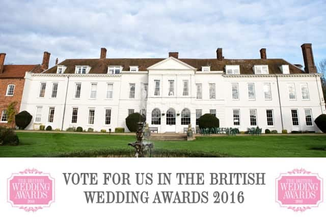 Gosfield Hall - Vote for Us