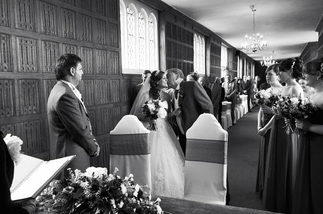 Father of the bride at Gosfield